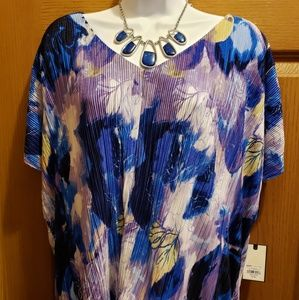 Dana Buchman Front Twist Top - XL